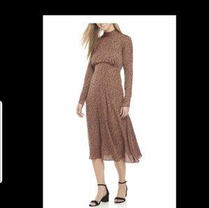 Free People Leopard Print Dress